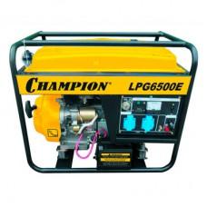 Генератор Champion LPG 6500E