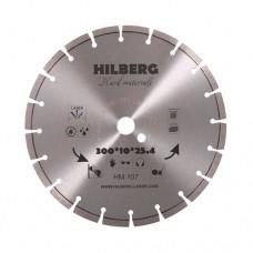 Алмазный диск TD Hilberg Hard Materials Laser d 300 мм (железобетон, керамогранит)