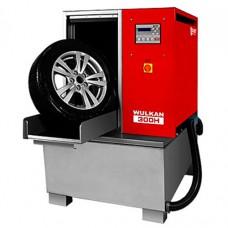 Автоматическая мойка колес гранулами Kart Wulkan 300H с подогревом (красная)