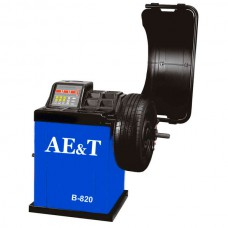 Станок балансировочный AE&T до 65кг 10-24 для литых колес (автоввод 2 п.)