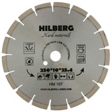 Алмазный диск TD Hilberg Hard Materials Laser 250 мм (бетон)