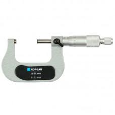 Микрометр гладкий Norgau NM-50 - 25-50 мм / 0,01 мм