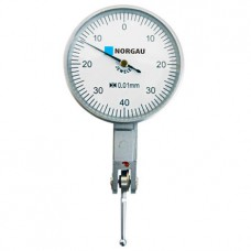 Головка измерительная Norgau рычажная - 0,8 мм, ц.д. 0,01 мм (циферблат 37,5 мм)